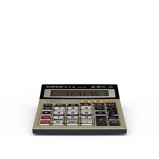 计算器3d模型