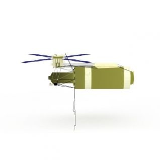 航空飞行器3d模型