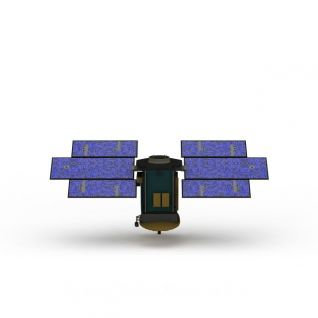 航天器3d模型