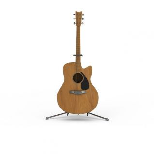 电吉他3d模型