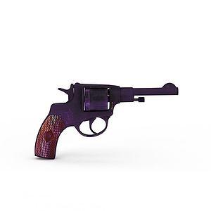 3d手枪模型