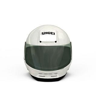 赛车运动头盔3d模型