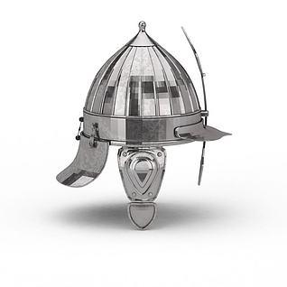 勇士头盔3d模型