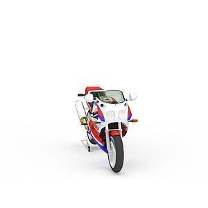 炫酷摩托赛车模型