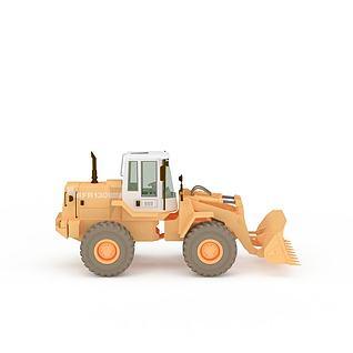 推土机3d模型