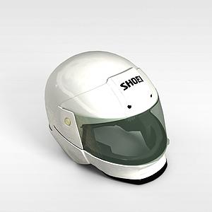 賽車運動頭盔模型3d模型