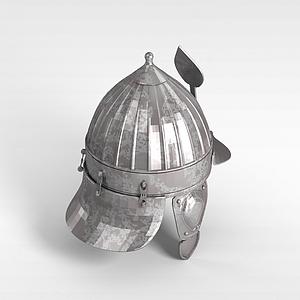 勇士頭盔模型3d模型