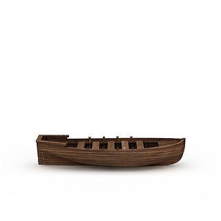 小木<font class='myIsRed'>船</font>3d模型