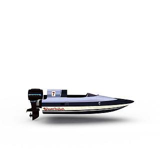 舰艇3d模型
