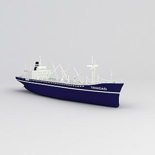轮船3d模型