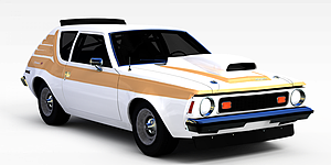 3dAMC<font class='myIsRed'>跑车</font>模型