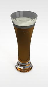 果汁飲品模型3d模型