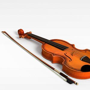 小提琴模型