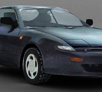 黑色小轿车