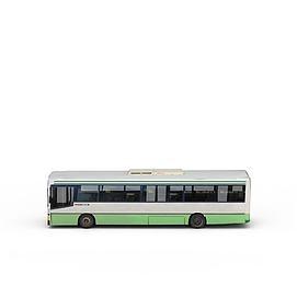 市政<font class='myIsRed'>公交车</font>3d模型