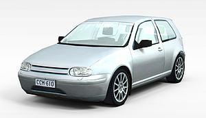 3d淡蓝色<font class='myIsRed'>小汽车</font>模型