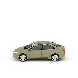 家用小轿车3d模型3d模型