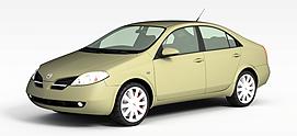 家用小轿车3d模型