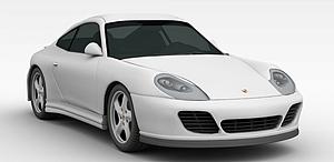 3d灰色<font class='myIsRed'>小汽车</font>模型