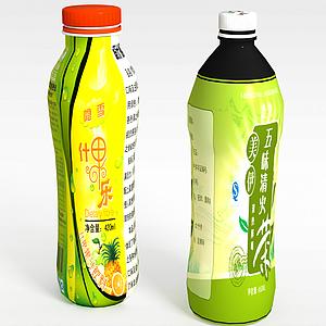 3d飲料模型