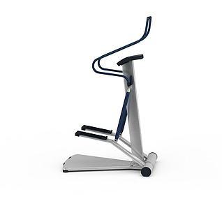 体育运动健身器材踏步机3d模型