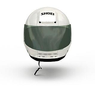 日本正荣正英赛车头盔3d模型