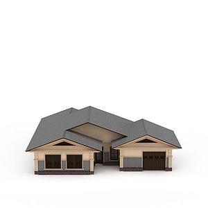 别墅小洋楼模型3d模型