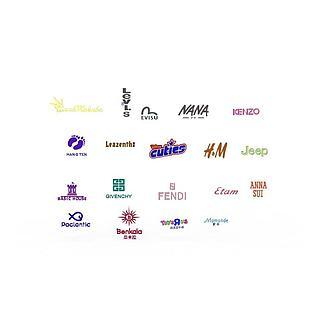 商品logo图标3d模型