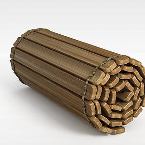 3d竹簡模型