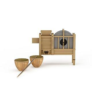 谷风机3d模型
