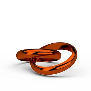 戒指模型3d模型