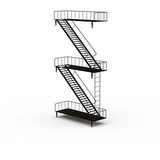 楼梯3d模型