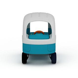 塑胶玩具小汽车3d模型3d模型