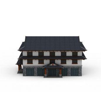 明清时代房屋建筑楼