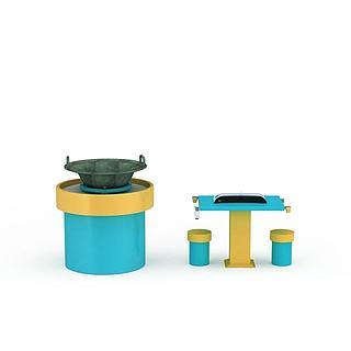 意念玩具器材3d模型