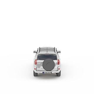 灰色丰田<font class='myIsRed'>车</font>3d模型