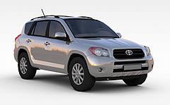灰色丰田车3D模型3d模型