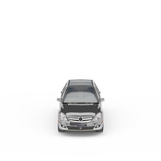 灰色奔驰<font class='myIsRed'>车</font>3d模型