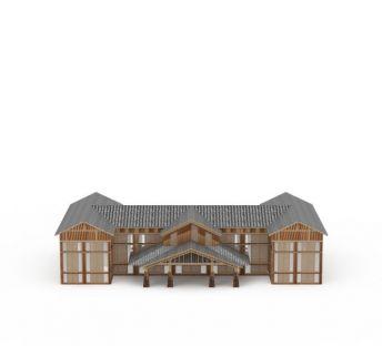 日式木屋建筑