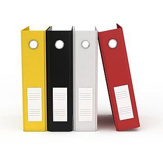办公文件夹3d模型3d模型