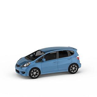 本田飞度商务轿车3d模型3d模型