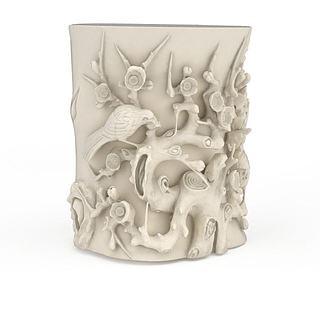 现代<font class='myIsRed'>动物</font>图案木雕艺术品3d模型