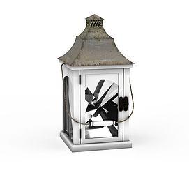 3d铁<font class='myIsRed'>灯笼</font>蜡烛灯烛台模型