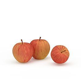 烟台苹果3D模型