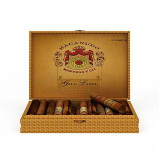 雪茄3d模型