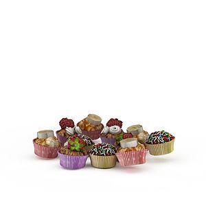 3d甜點模型