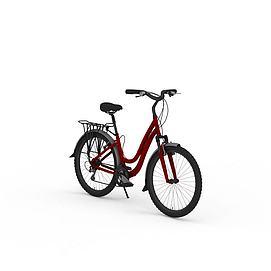 女式自行车模型