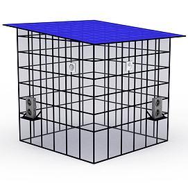 儿童拓展设备水冷空调屋模型