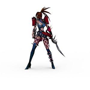 3d英雄角色模型