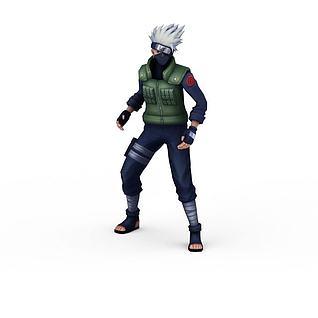 300英雄角色3d模型